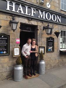The Half Moon Inn in Bramhope, West Yorkshire, England