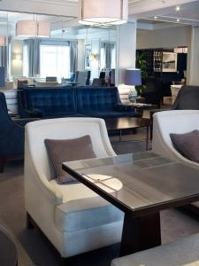 Apartmá Hilton Executive se vstupem do Lounge