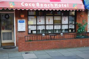 Coco Beach Hotel in Blackpool, Lancashire, England