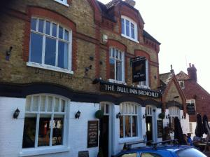 Bull Inn in Tonbridge, Kent, England