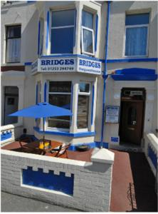 Bridges Guesthouse in Blackpool, Lancashire, England