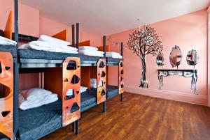 Bed in female dormitory for 14 adults