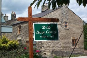Chapel Cottage in Chapel en le Frith, Derbyshire, England