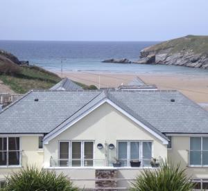 Porth Beachhouse in Newquay, Cornwall, England