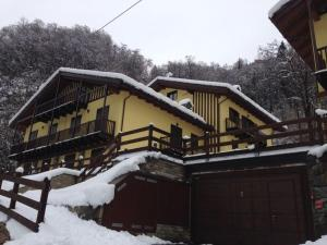 Residenza Mont Marlet - Apartment - Fontainamore - Exterior - Winter