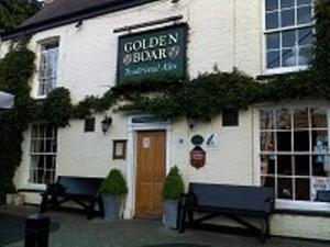 The Golden Boar Inn in Freckenham, Suffolk, England
