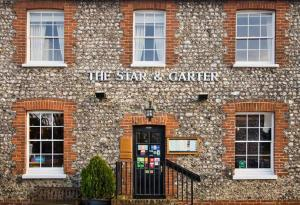 The Star and Garter in East Dean, West Sussex, England