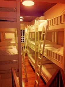 Bed in 18-Bed Male Dormitory Room
