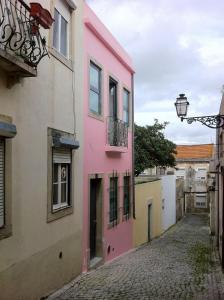 Little Villa In Old Historical Lisbon