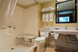 Double Room with Roll-in Shower - Mobility Accessible/Non-Smoking