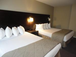 Queen Suite with One Queen Bed and One Double bed - Non-Smoking