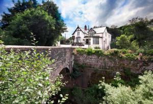 The Newbridge on Usk in Usk, Monmouthshire, Wales