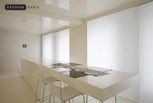 Studios Paris Appartement Hot White