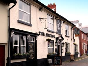 The Anchor Inn in Whitchurch, Shropshire, England
