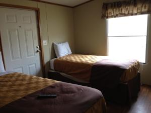 Mobile Home with Four Double Beds