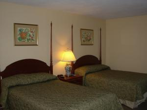 Double Room with Two Double Beds with Lake View