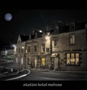 Station Hotel And Restaurant in Melrose, Borders, Scotland