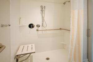 King Room with Roll-In Shower - Hearing Accessible