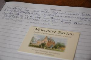 Newcourt Barton, Bed and breakfasts  Cullompton - big - 29