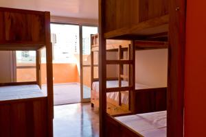 Bed in 6-Bed Male Dormitory Room with Internal Bathroom and Balcony