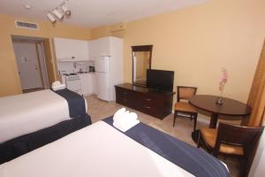 Double Room with Two Double Beds with City View