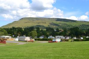 Campsie Glen Holiday Park in Fintry, Stirlingshire, Scotland