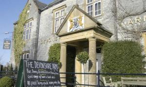 Devonshire Arms in Langport, Somerset, England