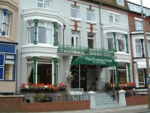 The Dukeries Hotel in Blackpool, Lancashire, England