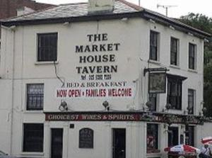 The Market House Tavern in Portsmouth, Hampshire, England