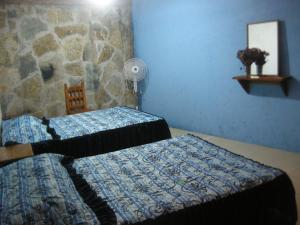 Double Room with Two Double Beds with Patio