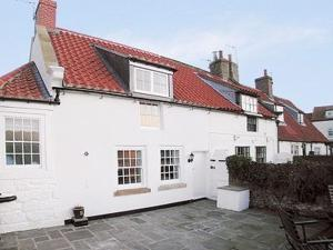White Cottage in Whitby, North Yorkshire, England