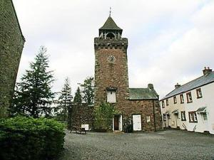 The Clock Tower in Holmrook, Cumbria, England