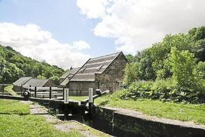 The Flint Mill in Foxt, Staffordshire, England