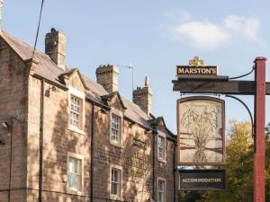 The Wheatsheaf by Marston's Inns in Baslow, Derbyshire, England