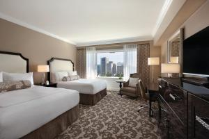 Deluxe Queen Room with Two Queen Beds with City View