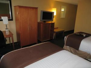 Junior Suite with Two Double Beds - Non-Smoking