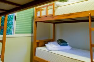 Bed in 6-Bed Male Dormitory Room with Internal Bathroom