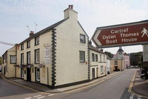 The New Three Mariners in Laugharne, Carmarthenshire, Wales