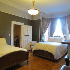 Two Beds with Private Bathroom