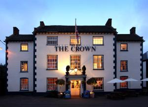 The Crown Hotel in Wells next the Sea, Norfolk, England
