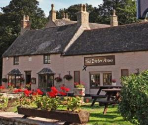The Exeter Arms in Easton on the Hill, Northamptonshire, England