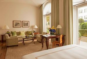 Four Seasons-juniorsuite med kingsize-seng