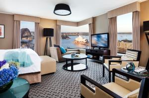 Suite Junior con vistas al puerto