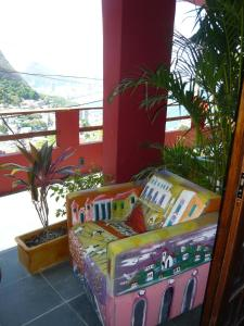 Double Room with Balcony and Sea View Green Room