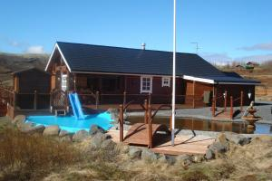Photo of Glæsibær Luxury Summerhouse With Hot Tub And Sauna