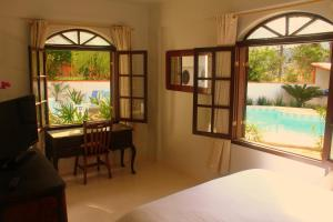 Double Room with Partial Pool View