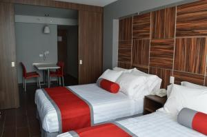 Standard Double Suite with Two Double Beds