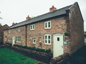 1 & 3 Rose Cottages in Endon, Staffordshire, England