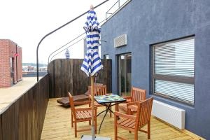 Two Bedroom Penthouse with Roof Deck