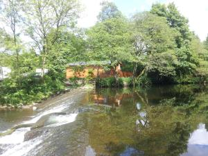 Dollar Holiday Home and Lodge Park in Dollar, Clackmannanshire, Scotland